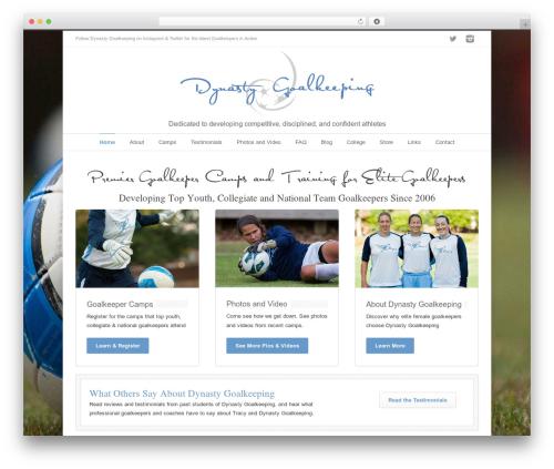 INOVADO theme WordPress - dynastygoalkeeping.com