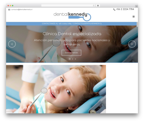 Jupiter WordPress theme - dentalkennedy.cl