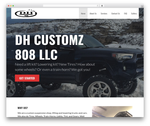 Primer free website theme - dhcustomz808.com