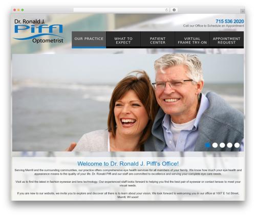 Template WordPress cherry - drpiffleyecare.com