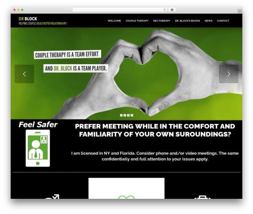 Theme WordPress Psychologist - drblock.com