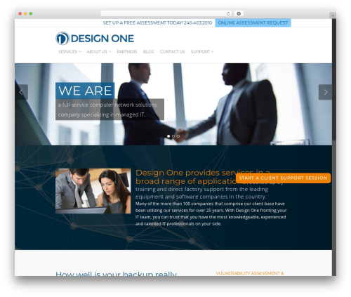 Theme WordPress Salient - design-one.com