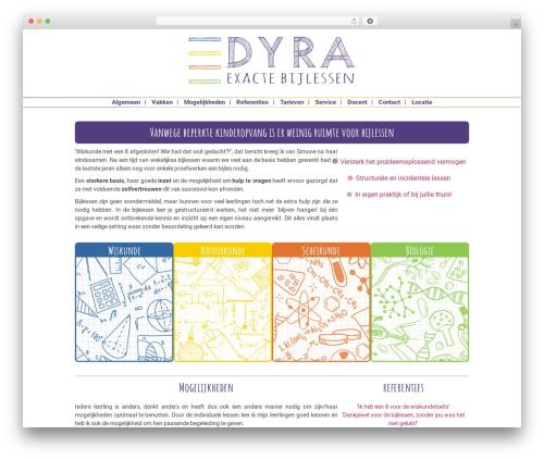 BLANK Theme WordPress template - dyra.nl