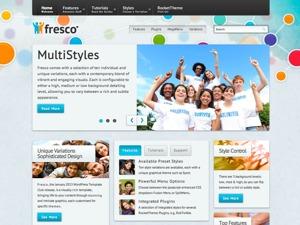 Fresco WordPress theme