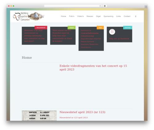 Lava premium WordPress theme - duyschot.nl