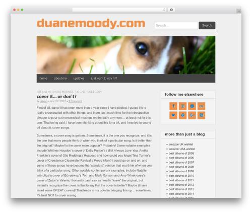 WordPress theme Gridiculous - duanemoody.com