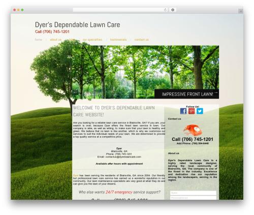 Free WordPress WP Customer Reviews plugin - dyerslawncare.com