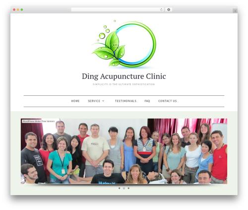 WordPress wonderplugin-slider plugin - dingacupuncture.com