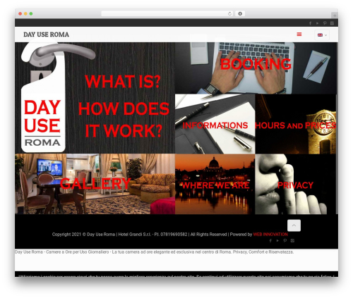 Betheme WordPress theme - day-use-roma.com