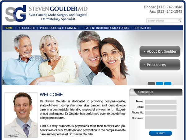 drgoulder.com WordPress theme
