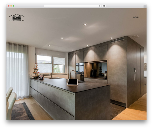 Kalium WordPress theme - dsarchitektur.ch