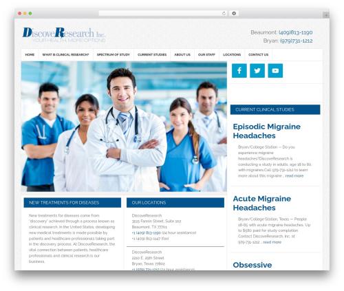 News Pro Theme WordPress template - discoveresearch.com