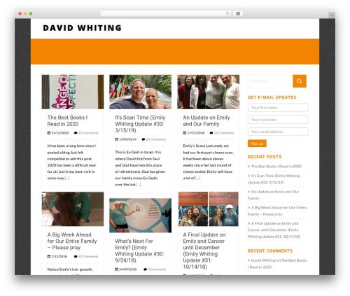 Template WordPress Asher - davidwhiting.today