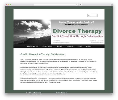 twentyeleven-child WordPress theme design - divorcetherapy.org