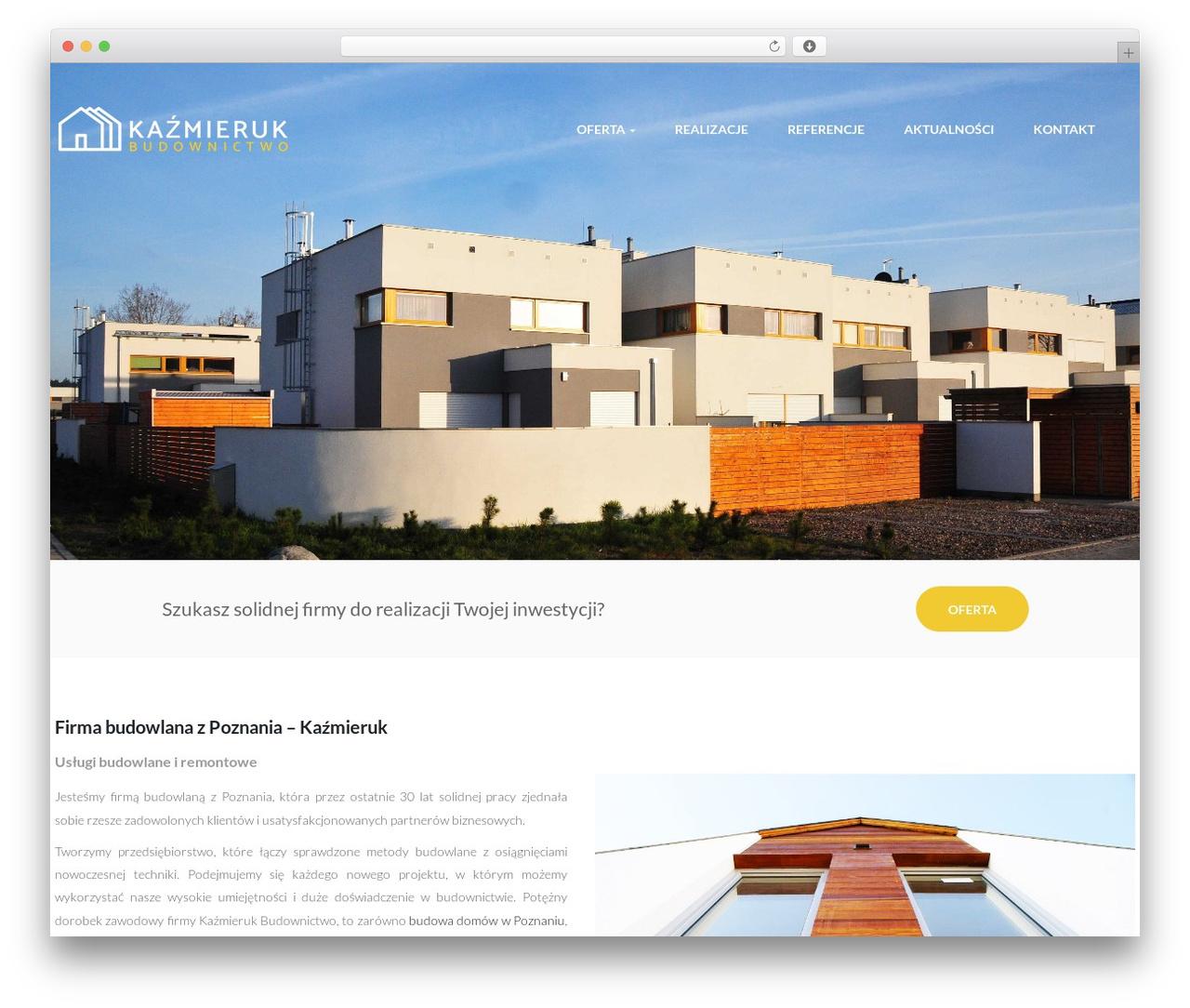 WordPress theme opalhomes - kazmieruk.pl