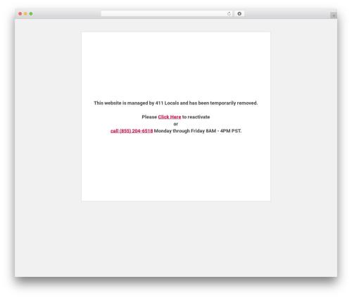 AccessPress Parallax best free WordPress theme - desertpetoasisaz.com