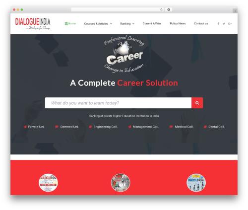 eLearningWP WordPress theme - dialogueindiaacademia.com