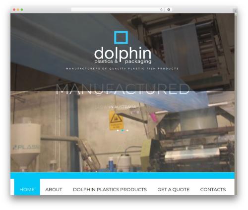 WordPress theme cherry - dolphinplastics.com.au