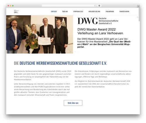 WordPress theme DWG - dwg-online.net
