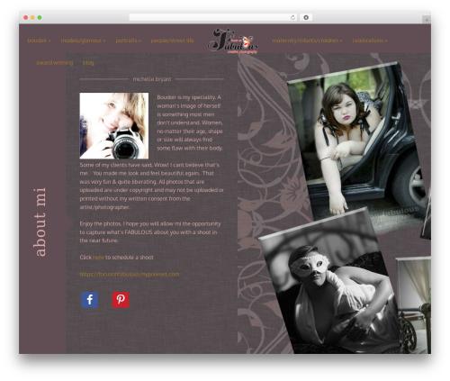 Acid premium WordPress theme - focusonfabulouscreativephotography.com