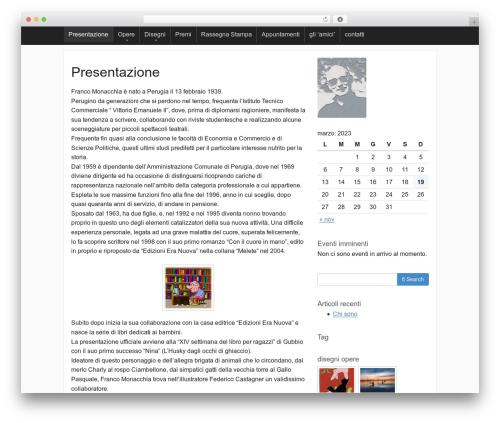 Activetab template WordPress - francomonacchia.it