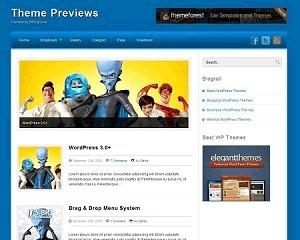Azul Wordpress Theme theme WordPress