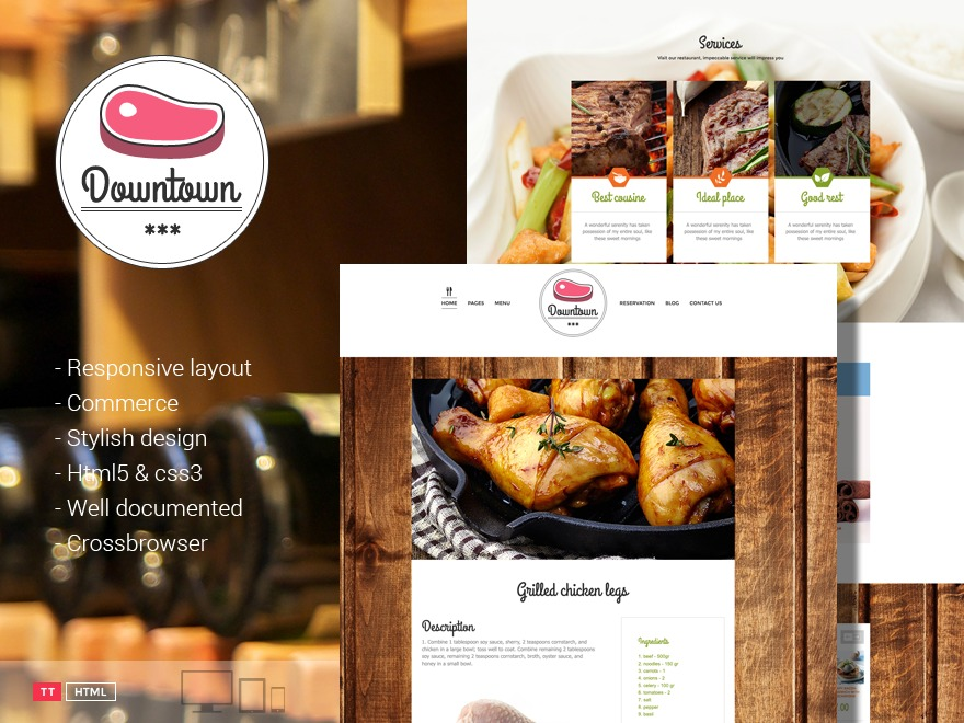 Best WordPress theme Downtown