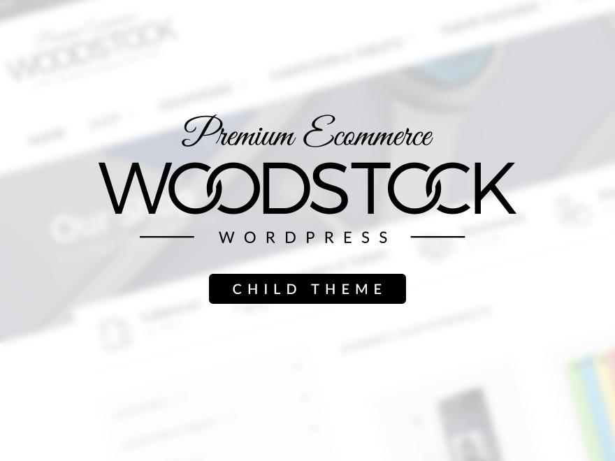Best WordPress theme WoodStock Child