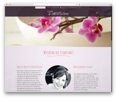 Betheme WordPress template - flowtime.info