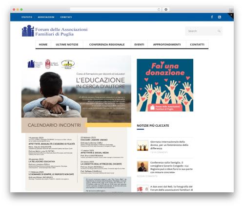 Blogit WordPress blog theme - forumfamigliepuglia.org