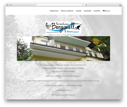 Free WordPress Booking Calendar plugin - ferienhaus-willingen.de