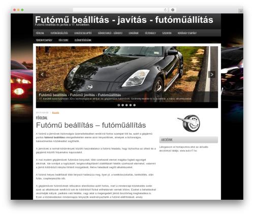 FastCar WordPress theme - futomubeallitas.net