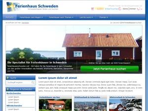 ferienhausschweden.net theme WordPress