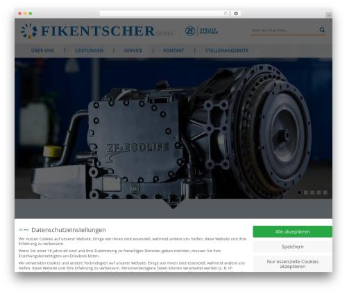 fikentscher_neu WordPress theme - fikentscher-group.de
