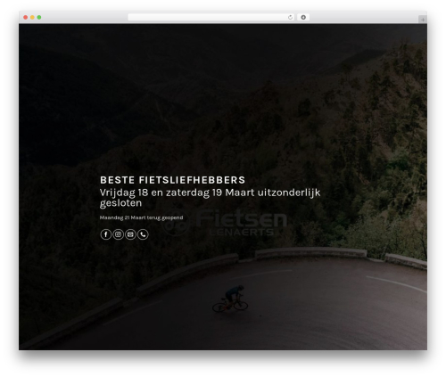 Flatsome WordPress theme - fietsenlenaerts.be