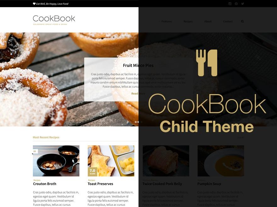 Foodforyourgood Theme food WordPress theme