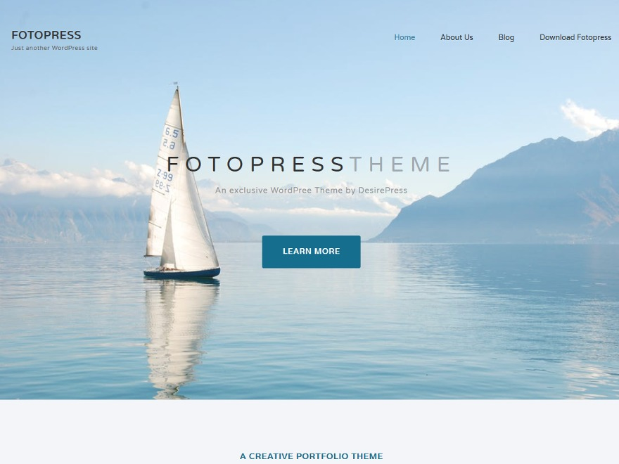 Fotopress WordPress template for business