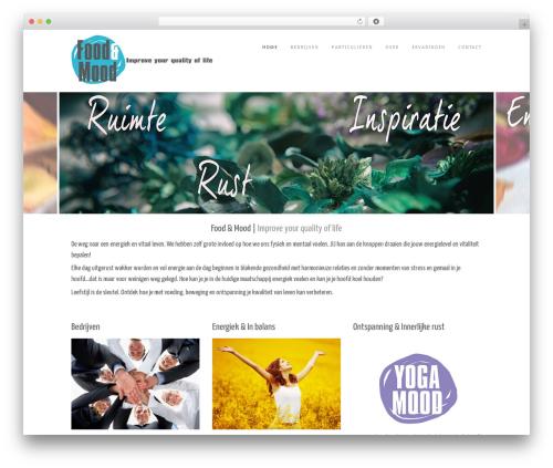 Impero Premium WordPress template - foodenmood.com