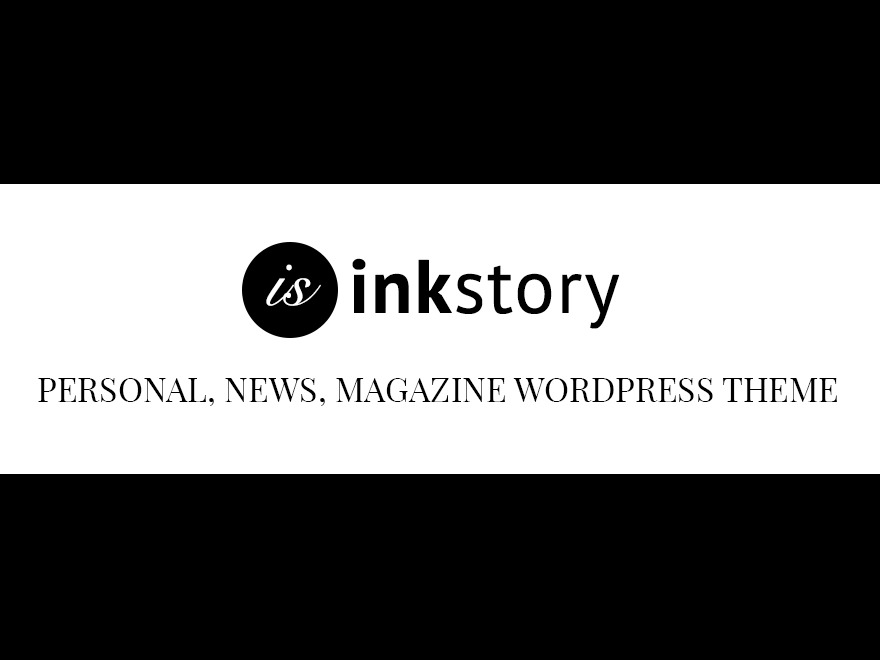 InkStory WordPress news template