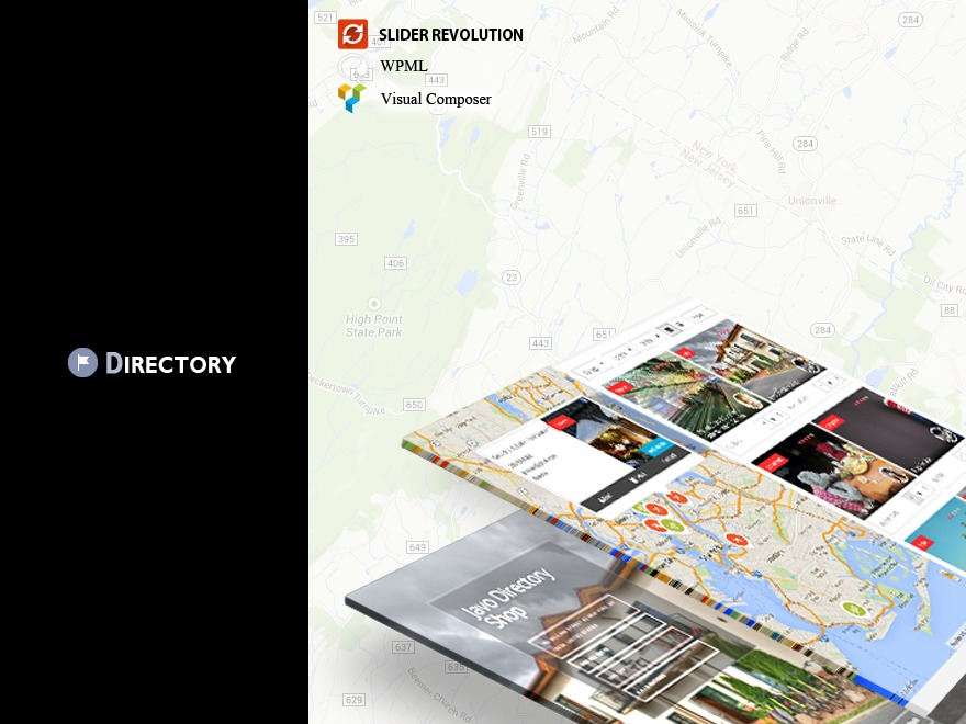 Javo Directory WordPress page template