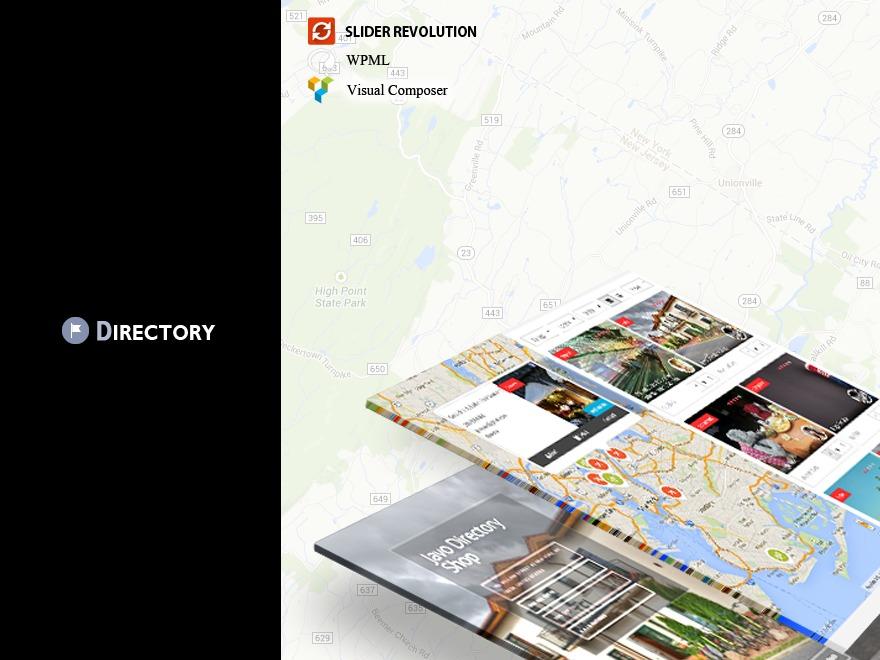 Javo Directory WordPress page template