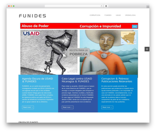 MediCenter best WordPress template - funides.org