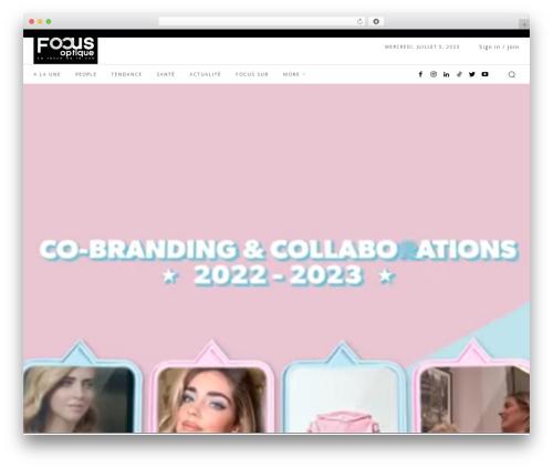 Free WordPress 3D Tag Cloud plugin - focusoptique.tn