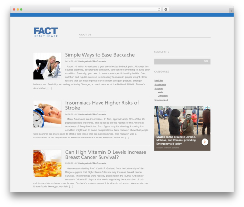 Open WordPress theme - facthealthcare.com