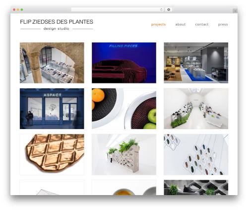 Qua WordPress page template - fzdp.com