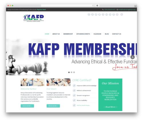 Rocco theme WordPress - fundraisingkenya.org