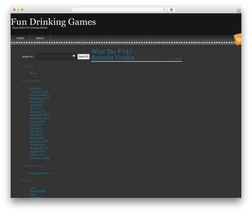 Snowblind WordPress theme download - fundrinkinggames.org