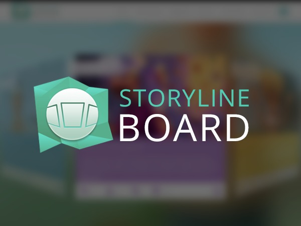 Storyline Board WordPress blog theme