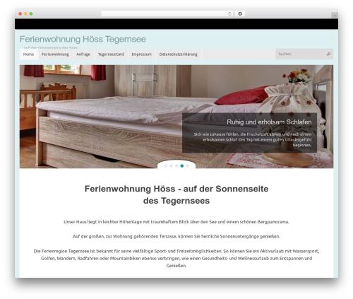 Free WordPress Responsive Lightbox & Gallery plugin - ferienwohnung-hoess-tegernsee.de