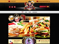 Theme WordPress Fat Boy's Bar & Grill